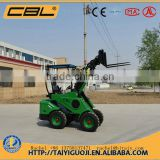 DY620 500kg mini skid steel multifunctional loader for sale