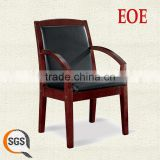 wood chair vietnam conference chair leather wooden frame meeting room chair