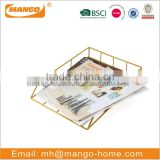 Office stationery set metal iron paper tray