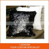 Fashion Customized Size Sequin Sofa Decorative Pillow Case