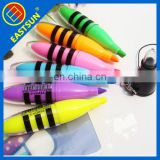High end custom fluorescent ink pen with logo printing