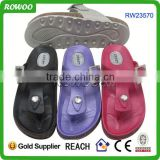 pvc sandals with diamond new fashion for girls