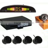 Hot Car LED Parking Sensor Kit Display 4 Sensors 22mm 12V for all cars Reverse Assistance Backup Radar Monitor System