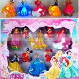 Snow White Princess Belle Figure Play Set Games for Girl