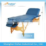 Acrofine folding wooden massage table massage futniture with comfortable feeling