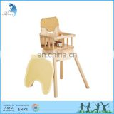 Best Selling Quality montessori educational furniture feeding baby high chair for kids children