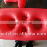 PVC inflatable floating bar
