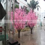 SJZJN 308 Lovely Artificial Peach Blossom Pink Peach Wishing Tree Wedding Decoration Tree