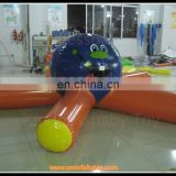 air tight high quality inflatable water park game , floating water games on sale