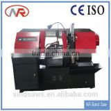 GS500 Automatic Hydraulic Horizontal CNC metal cut band saw machine used portable saw mill