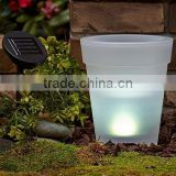2015 the newest LED flower pot LED pot flower pot plastic flower pot garden planter