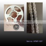 ybr125 sprocket and chain kit , 14T, 45T, 428H-118L