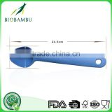 New promotional items compostable blue bamboo fiber spoon