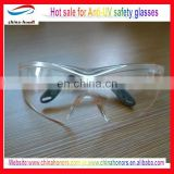 Anti-UV safety work glasses/uv protected safety glasses