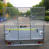 Single Axle atv dump trailer and galvanized trailer for ATV