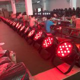 factory supply waterproof ip65 aluminum house disco light led par can 54*3w led par 64 rgbw dmx stage lighting