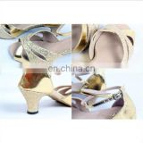 BestDance Fashion Satin Latin /Ballroom Dance Shoes for girl Sexy women dancing salsa shoes High heel Plus Size