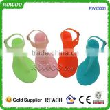 Frozen Colored Ladies Sandal shoes selipar flip flops