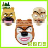 Promotional cartoon PVC Children Animal bear carton face Masks