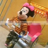 2015 New model mustic and timer Cartoon robot rickshaw