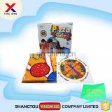 newest pizza twist play mat custom Twister Game for kids