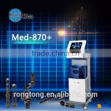 Tattoo /lip Line Removal KES MED-870+ Co2 Fractional Laser Wrinkle Removal Vaginal Rejuvenation Medical Equipment Plastic Surgery