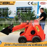 MS500P 500kg mini skid steel tractors with front end loader for sale