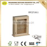 Decorative wooden key holder box wall hanging decoration box