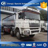 good performance 8x4 336hp to 375hp 41cbm SHACMAN F3000 huge bulk cement tank truck for hot sale