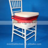 crystal wedding white resin banquet chairs wholesale