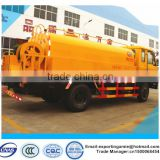 best price of dongfeng 8000 liters high pressure sewer flushing truck