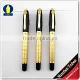 Heavy Metal ball pen , 24K gold pen with gold clip