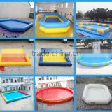 0.6mmPVC/ 0.9mmPVC inflatable swimming pools,used inflatable swimming pool for sale,large inflatable swimming pool