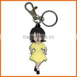 cartoon pvc key