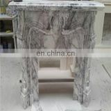 Marble fireplace hearth slab