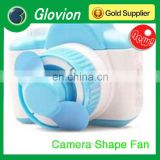 Best seller summer novelty working by battery mini hand plastic fan