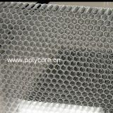 transparent waterproof light weight stiffness strength PC honeycomb core