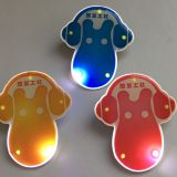 Flash badge makes the night light badge custom factory