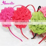 Latest Cute Chiffon Flowers Hairband Designs