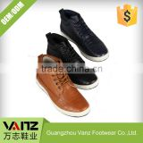 Pu Leather Boys Men Half Ankle Boots Customizable Casual Shoes