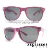 Cheap Promotiona pink Sunglasses/eyewear Factory Custom Lens logo OEM