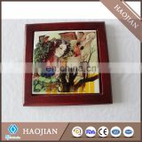 love letter table marriage decoration wood frames rosewood frame