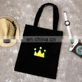 Korean Style Big Capacity Printing Eco-friendly Canvas Tote Bag With Logo