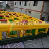 Giant commercial inflatable toy game , inflatable maze fun city , inflatable labyrith fun city
