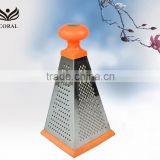 Durable stainless steel cheese vegetable grater                                                                         Quality Choice