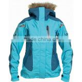 Mens Ski Jacket with <b>fur</b> hood