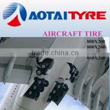 Hot sales 800X200 military plane Tires