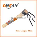 ODM available Eco-friendly garden culti rake hoe with wood handle