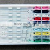 hotel sewing kit plastic sewing case