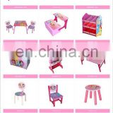 Child safety product classroom wooden desk and children's study chairs